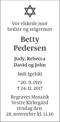 Betty Pedersen