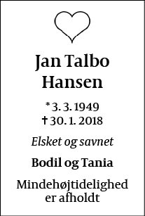 Jan Talbo Hansen
