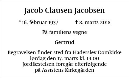 Jacob Clausen Jacobsen