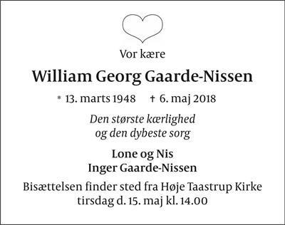 William Georg Gaarde-Nissen