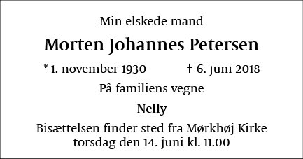 Morten Johannes Petersen
