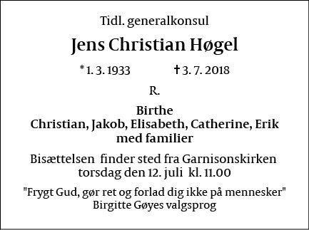 Jens Christian Høgel
