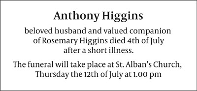 Anthony Higgins