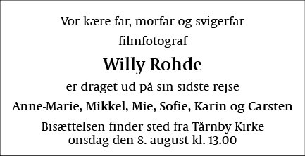 Willy Rohde