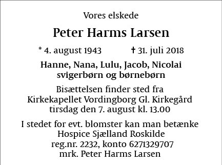 Peter Harms Larsen