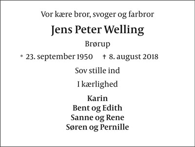 Jens Peter Welling