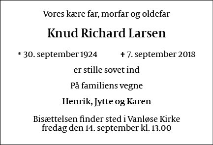 Knud Richard Larsen