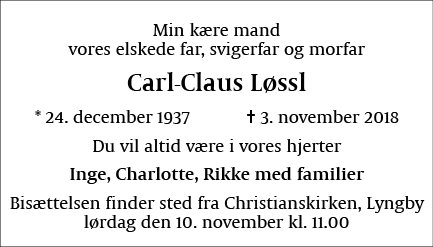 Christoph Carl-Claus Løssl