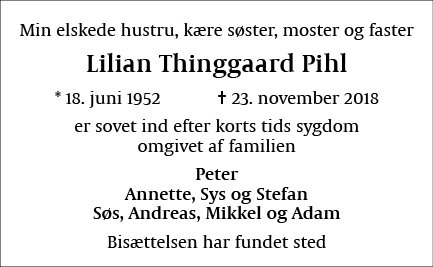 Lilian Thinggaard Pihl