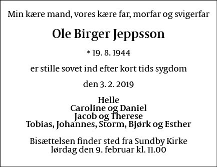 Ole Birger Jeppsson