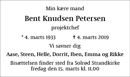 Bent Knudsen Petersen