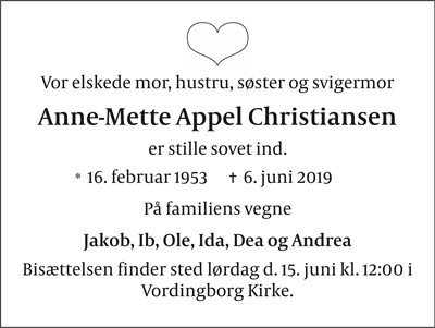 Anne-Mette Appel Christiansen