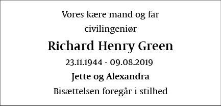 Richard Henry Green