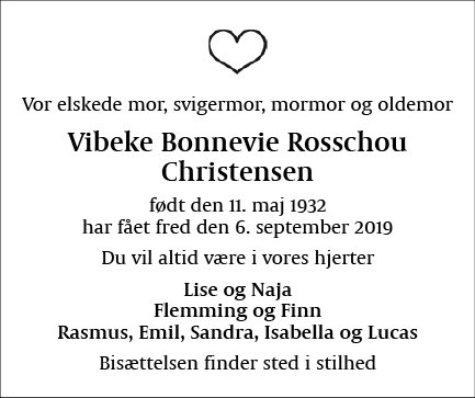 Vibeke Bonnevie Rosschou Christensen
