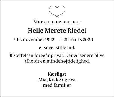 Helle Merete Riedel