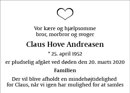 Claus Hove Andreasen