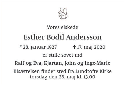 Esther Bodil Andersson