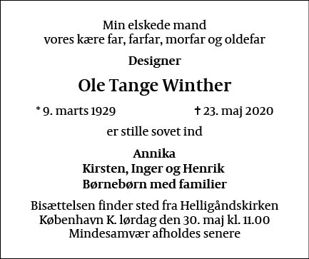 Ole Tange Winther