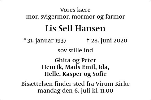 Lis Sell Hansen