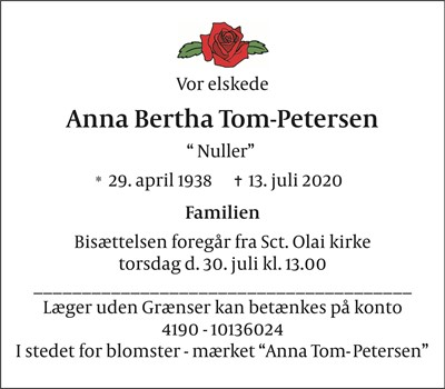 Anna Bertha Tom-Petersen