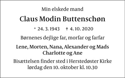 Claus Modin Buttenschøn