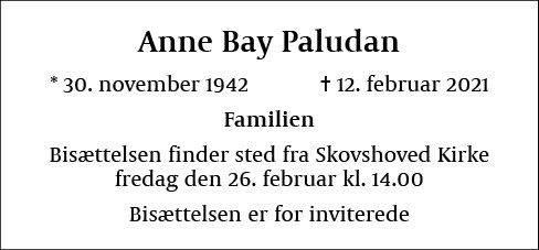 Anne Bay Paludan