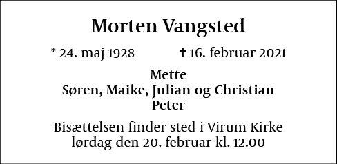 Morten Vangsted