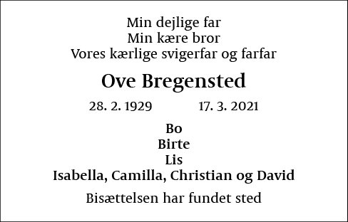 Ove Bregensted