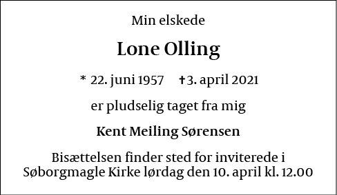 Lone Olling
