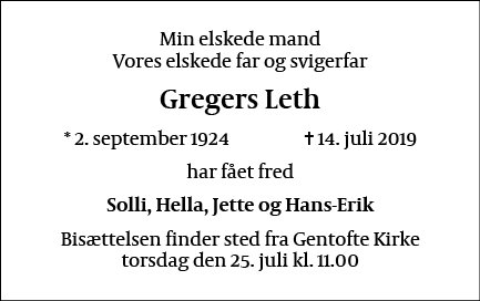 Gregers Leth